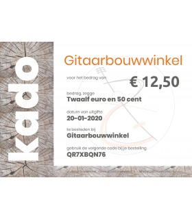 Gift Certificate €12,50