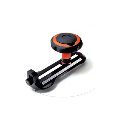 Rosette circle cutter