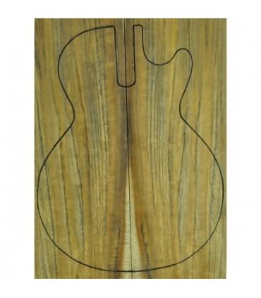 Ovangkol carved top